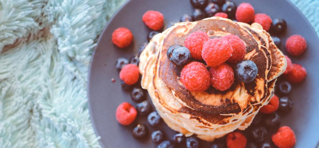 Schnelle Pancakes ohne Mehl