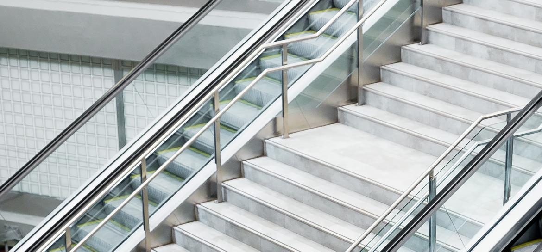 Treppen gehen statt Rolltreppe