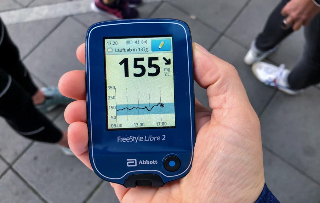 Mein Erfahrungsbericht: Mit dem FreeStyle Libre 2 einen Marathon laufen.