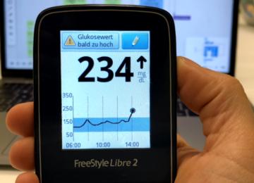 Das FreeStyle Libre 2 im Alltag